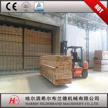 Lastest technology good quality wood drying room, lumber drying chamber for sale/log dryer kiln