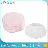 Cosmetic Double Non-Woven Cotton Pad Round Facial Cotton Pads For Making Up