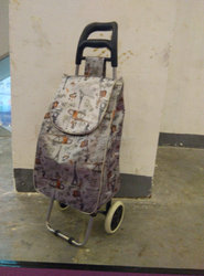 High quality Folding shopping trolley bag with 2 wheels