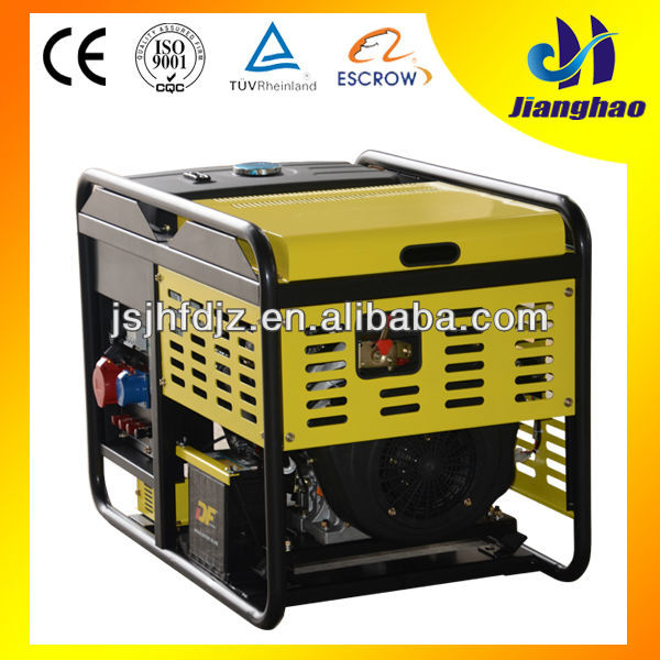 supply air-cooled 8kw 10kva best generator home use