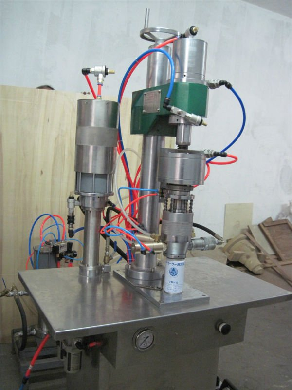 under cup aerosol machine ,can filling 134a refrigerant gas