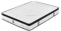 High quality queen size pillow top pocket spring mattress