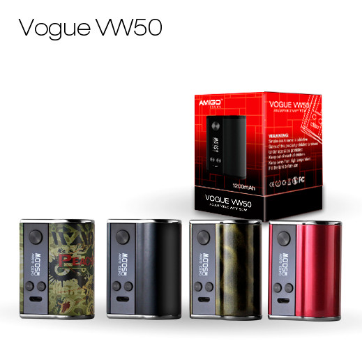 low voltage 3.7v-4.2v protection vape mods 50w