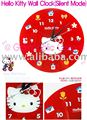 Sanrio Hello Kitty Wall Clock with Silent Mode