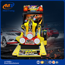 Hottest racing car simulator 3d motion racing arcade machines for game center