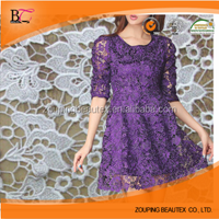 The new high-end fashion cotton cloth embroidery, embroidered cloth lace fabrics