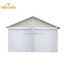 Yang Zhou Yihua large size 6*6m 2 cars steel carport for sale