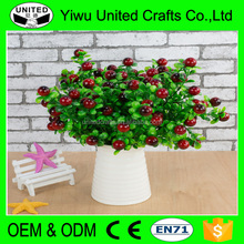 Wholesale Home Decor Fake Fruit Foam Artificial Cherry
