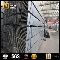 HDG Hot Dipped Galvanized Structural Steel Tube/Pipe HR CR Hot Cold Rolled SHS RHS