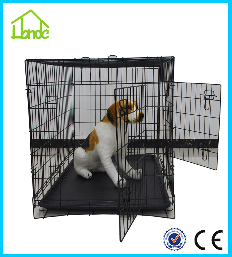 2015 popular folding double door dog house buy folding for Double door with dog door