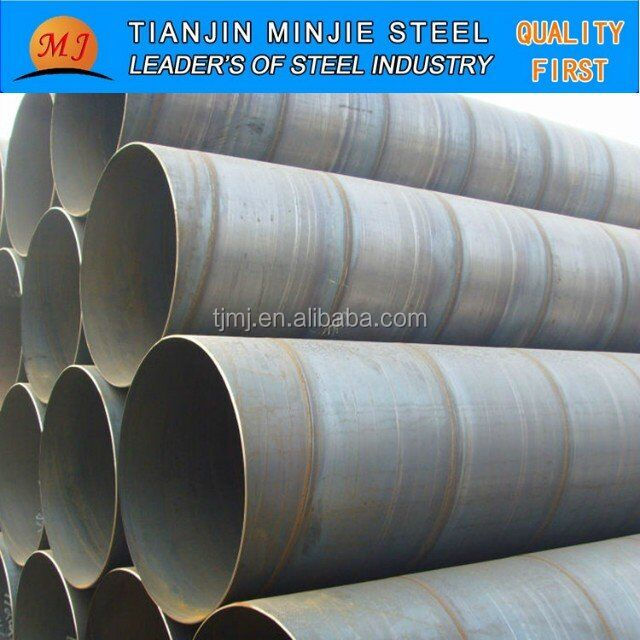 Best price spiral welded pipe for powdery soild transportation system
