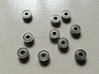 mini type high speed deep groove ball bearing 681 with size 1*3*1 used for yamaha pocket bike