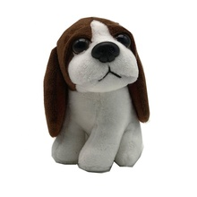 Promotional soft Puppy toy Stuffed <strong>animals</strong> Brown Dog Pelushes children toys
