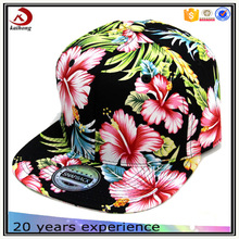 unisex women's fun flowery snapback hat and cap