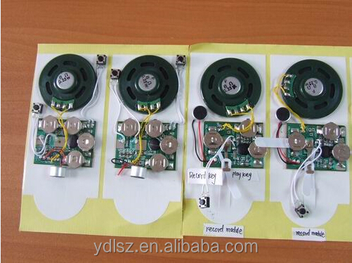 ic,greeting card voice recorder module,diode