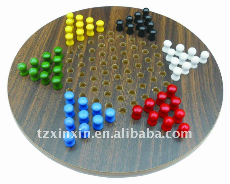 wooden board games chinese checker games