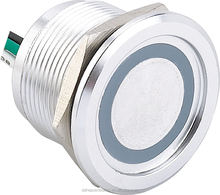 High quality 22mm Metal Oxidation Anti vandal Piezo electric Switch Waterproof IP68,Push on /off Button Switch