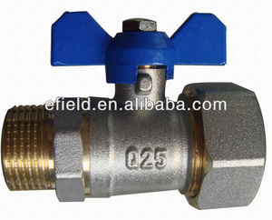 China high productivity manufacture Efield OEM brass ball valves for pipes with CE&WATERMARK&AENOR