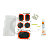 Hongjin Basic Bicycle Tire Puncture Repair Kit