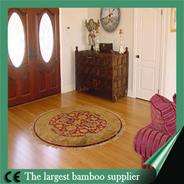 Exporting natural vertical engineered bamboo HDF core Floorings