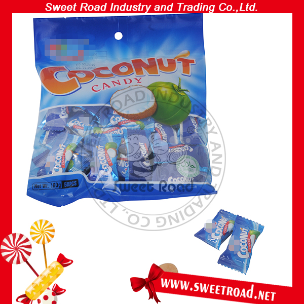 50pcs Coconut Flavor Hard Candy