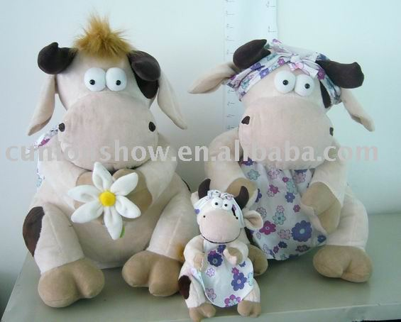 stuffed cow,plush cow,cow toy