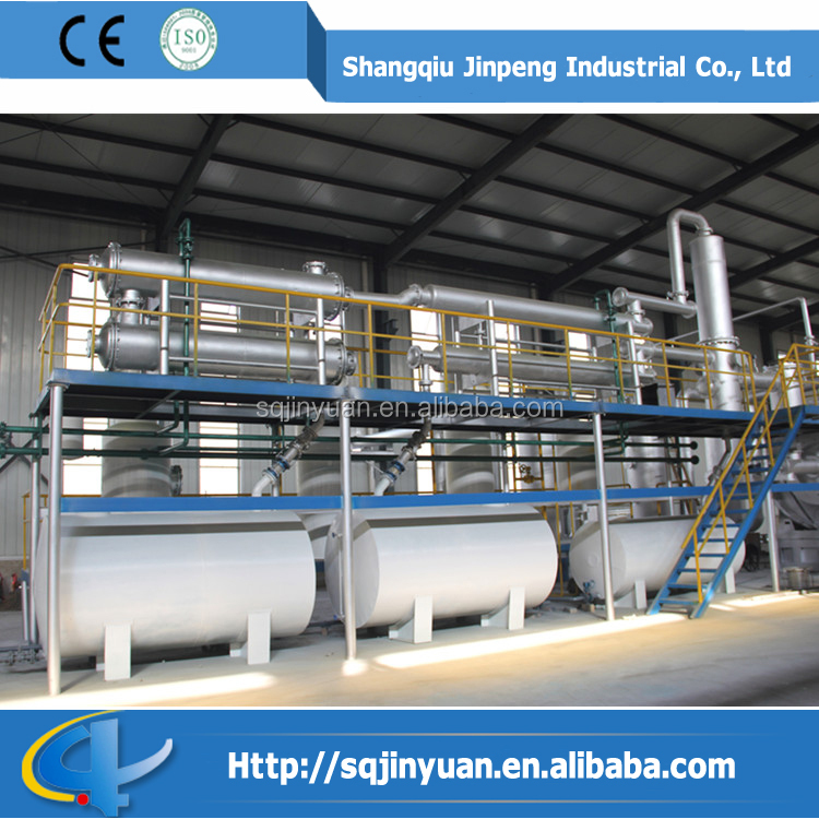 Professional Tyre Oil Refinery Machine with CE,SGS,ISO