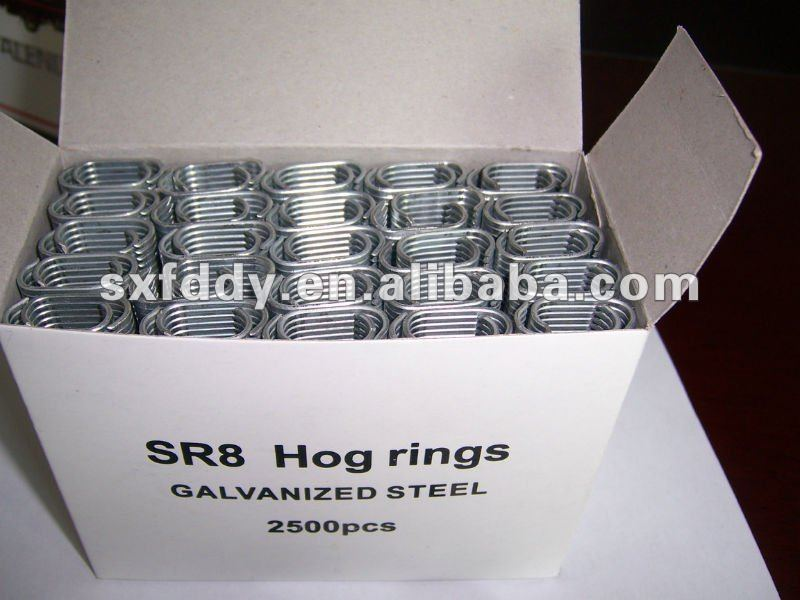 Easy used hog ring staples of SR8-Made in china