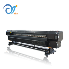 3.2m large format banner flex digital solvent printing machine Allwin H8 Konica minolta printer