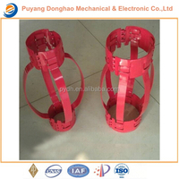 Oil non-load brearing spring hinged centralizer