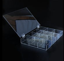 Zhongshan Custom Clear Acrylic Storage Box for Boutique Store
