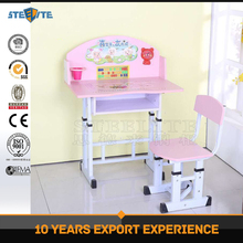 Wholesale cheap plastic kids study table for nursery school furniture
