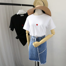 2017 wholesale newest korea fashion style women's t shirt