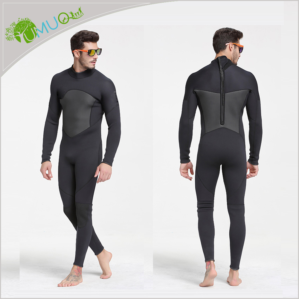 Custom Men/Women 2MM Neoprene Long Sleeve Spearfishing Surfing Diving Wetsuits / Suits