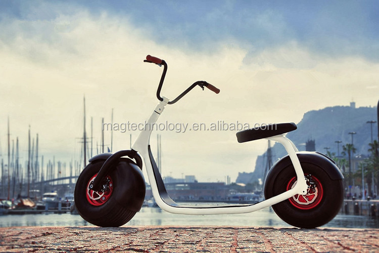 Fat tire and phone app bluetooth Scrooser harley electric motorcycle 2016 newest fastest electric scooter,most cool 2 wheels