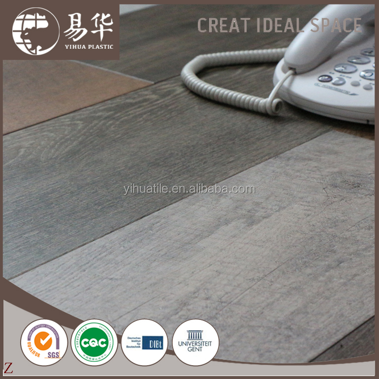 vinyl tile flooring 2mm thickness(2mm thick pvc flooring)