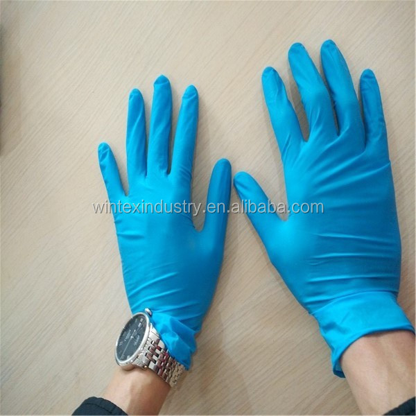 Medical Latex Examination Gloves Malaysia For Medical Consumable,Latex Gloves With Powder Or Powder Free