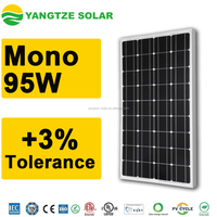 Yangtze high efficiency 95w mono solar panel