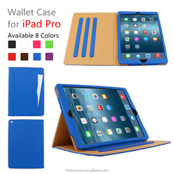 2016!! 12.9 Inch Leather Tablet Case For iPad Pro , 12.9 Inch Stand Cover For iPad air pro ,For iPad pro business Case Wholesale