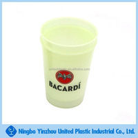 event & party decoration 12oz plastic fluorescent cup glow in the dark