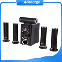 Popular Sale 5.1 tower home theater speaker with usb sd fm