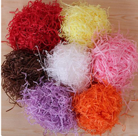 DIY Craft Material Shred Paper Filling Material Filler Raffia For Wedding Party Candy box,40g/bag,4bags/set