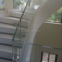 10mm/12mm Tempered Laminated Stairs Railing Glass