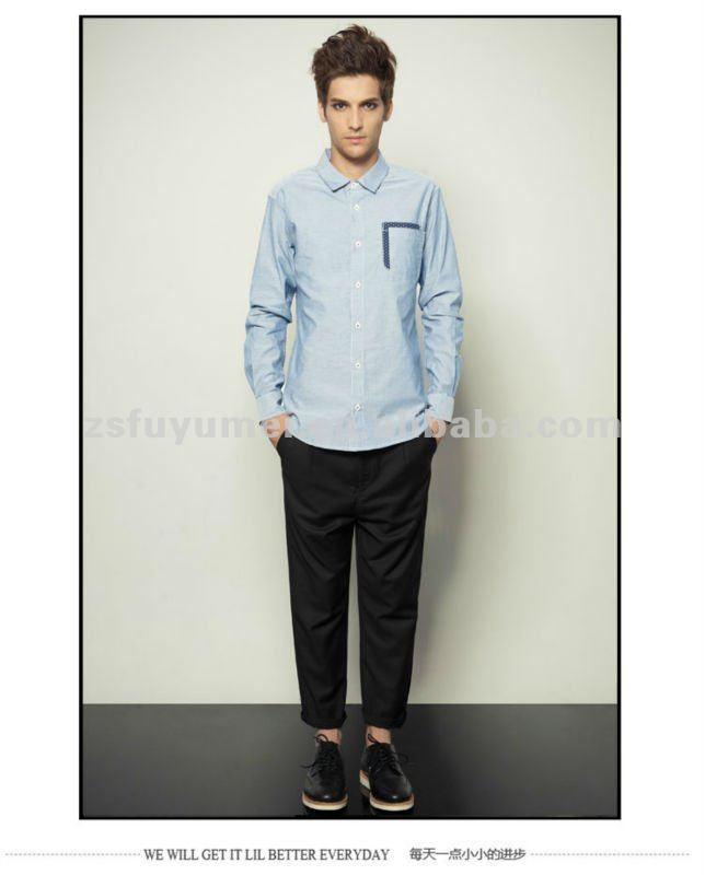 2014 mew design fashion casual shirts for business men or cool boys