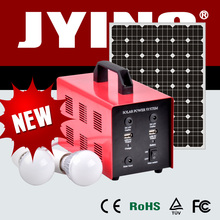 High efficient charged both by solar energy and city electricity 15W solar power system
