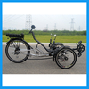 Disc Brake Three Wheeled Recumbent Powered Tricycle on Sale