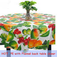 decorative round plastic table covers