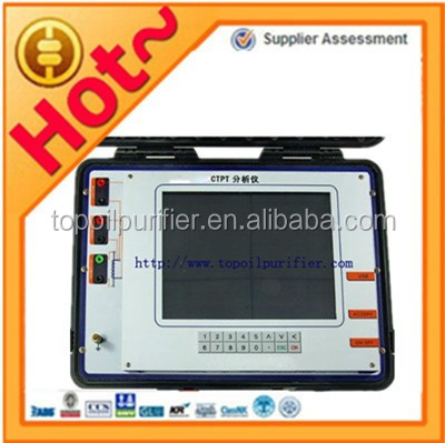 High accuracy current and potential transformer(CT/PT) analyzer