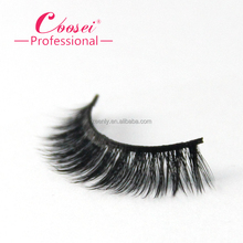 OEM manufacturer primium 3d faux mink clear band wink lashes