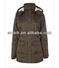 Winter Women Jacket with Belt for 2014